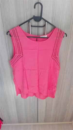 Pink summer top for sale