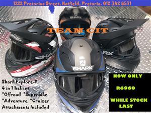Shark Explore-R Helmet Special