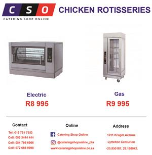 CHICKEN ROTISSERIES BRAND NEW FOR SALE