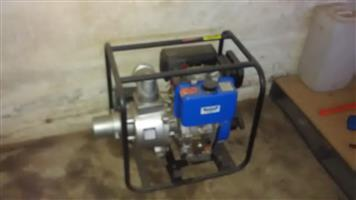 100mm diesel water pump hardly used