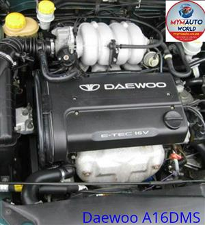 Complete Second hand used engines,  DAEWOO NUBIRA/LANOS 1.6L 16V DOHC, DAEWOO A16DMS
