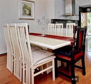 6 Seater Dining room suite