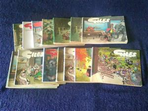 Assorted Giles Magazines