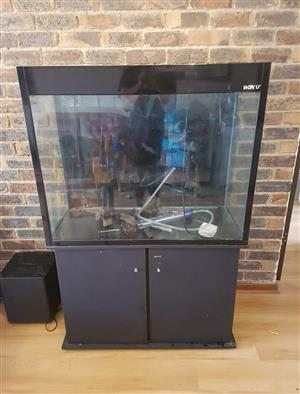 Boyu fish tank, stand and accessories for sale