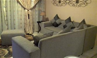 6 Seater LShape lounge suite