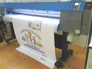 F-1861/ECO/DX7 FastCOLOUR 1860mm Large-Format ECO Solvent Ink EPSON® DX7 Printhead Inkjet