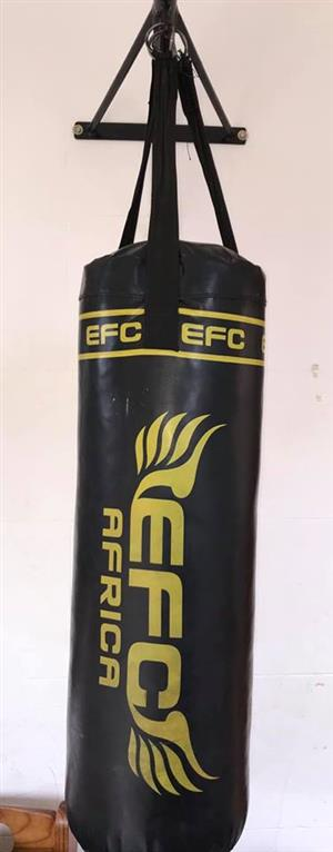 Black EFC Punching bag for sale