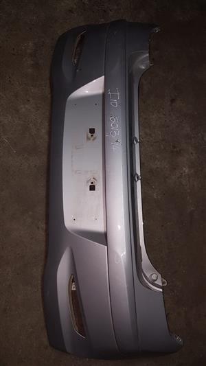 Hyundai i20 2013 - 14 rear silver bumper for sale.