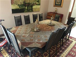 Dining Room Set, 12 Seater, Excellent Condition