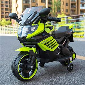 Children's electric motorcycleMaterial:   plasticChild care battery: 6V4.5AHProduct   weight: 6.6KGRecommended