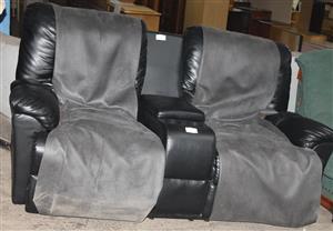 2 seater recliner S032379C #Rosettenvillepawnshop