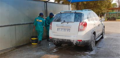 Wash & Go SUV , DBl Cab