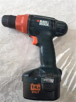 WANTED! - Looking for charger for a Black & Decker cordless drill Model no. CD14c