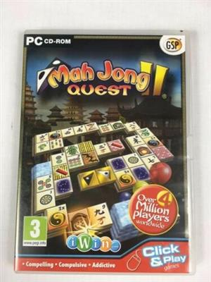 Mah Jong Quest II Puzzle Game PC Game