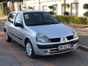 2006 Renault Clio 1.4 Expression 5 door