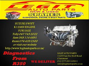 Suzuki Swift  K12MN ENGINE FOR SALE
