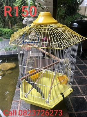 Bird Cage Small (Yellow roof)
