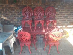 Steel Garden set for sale