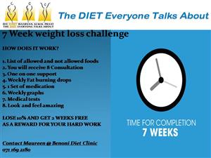 7 week weight loss challenge