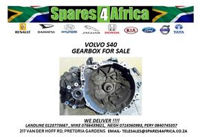 VOLVO S40 USED GEARBOX