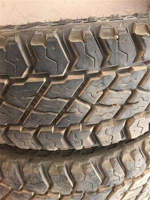 """2014 Prado 18"""" Rims & MT tyres"""