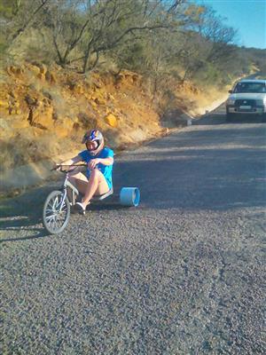 Down hill drift trike Rides