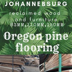 150mm Oregon pine flooring