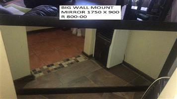 Big wall mount mirror for sale