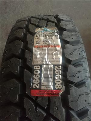 265/60/R18 Cooper discoverer At3 brand new, never been used X 4""