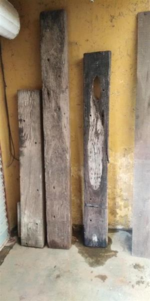Old wooden sleepers for sale