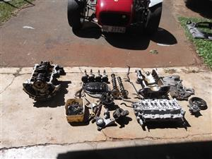 2NZ Toyota Yaris 4 cylinder engine parts for sale in Howick