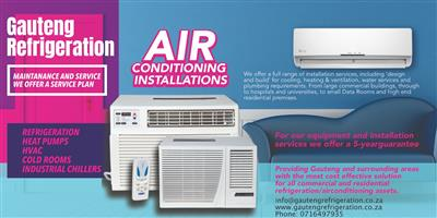 Air conditioning services (Commercial & Residential Air Conditioning) 0790193598
