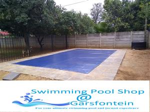 PVC Pool Covers for your pool this Summer SAVE Water!