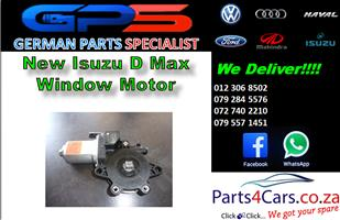 New Isuzu D Max Window Motor for Sale