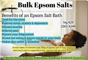 Epsom Salts for sale