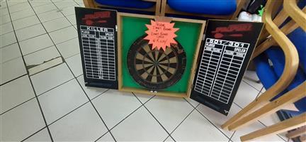 Nodor Dart Board & Dart Board case.
