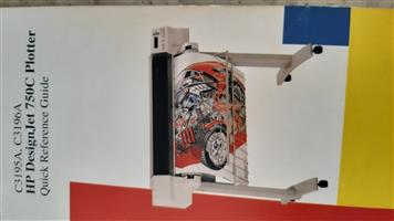 Hewlard Packard printer plotter 750c plus