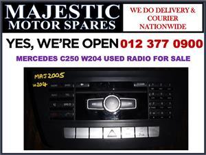 Mercedes benz C250 used radio for sale
