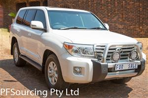 2013 Toyota Land Cruiser 200 4.6 V8 VX
