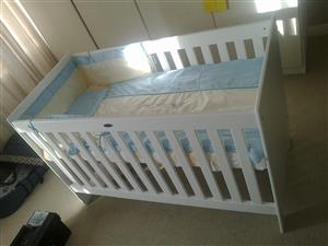 "Pre-loved ""Treehouse"" cot for sale"