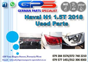 Used GWM Haval H1 1.5T 2018 Parts for Sale