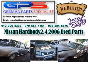 Nissan Hardbody 2.4 2006 Used Parts for Sale