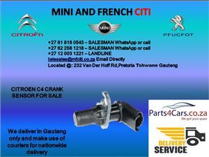 Citroen c4 crankshaft sensor for sale