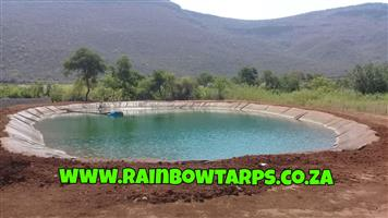 EARTH DAM LINERS/ GROND DAM VOERINGS/ DAM WATERPROOFING