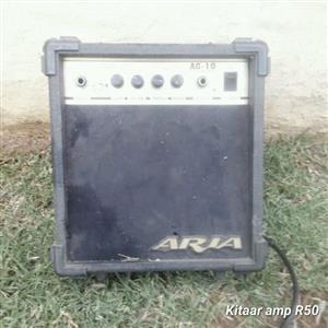 Aria guitar amp for sale