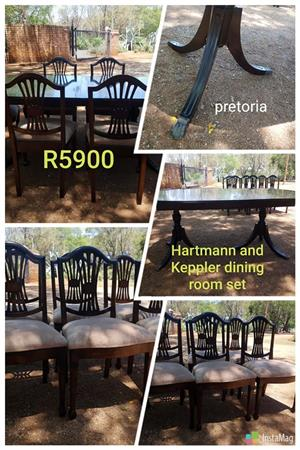Hartmann and Kepler diningroom set