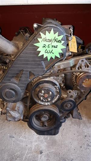 Ford Ranger 2.5 WL engine for sale.