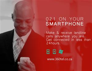 021 landline on your smartphone; Make & Receive landline calls on your smartphone anywhere.