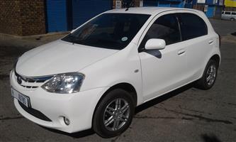 2013 Toyota Etios hatch 1.5 Xi
