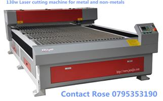 130w laser cutting machines :metal,iron,steel,wood,acrylic